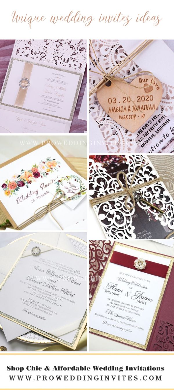 Unique wedding invites ideas | diy funny wedding invitations | wedding invites funny - pro wedding invites