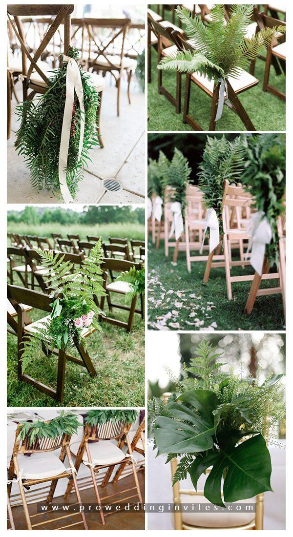 Greenery Chic and Elegant Wedding Decoration Ideas