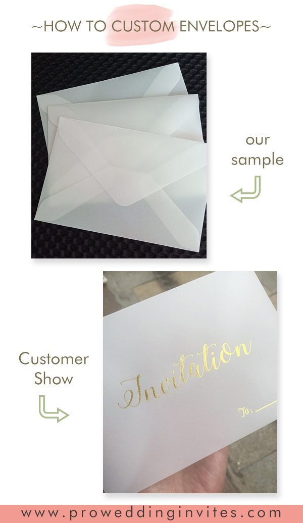 Unique ways to upgrade your envelopes to match your save the date cards