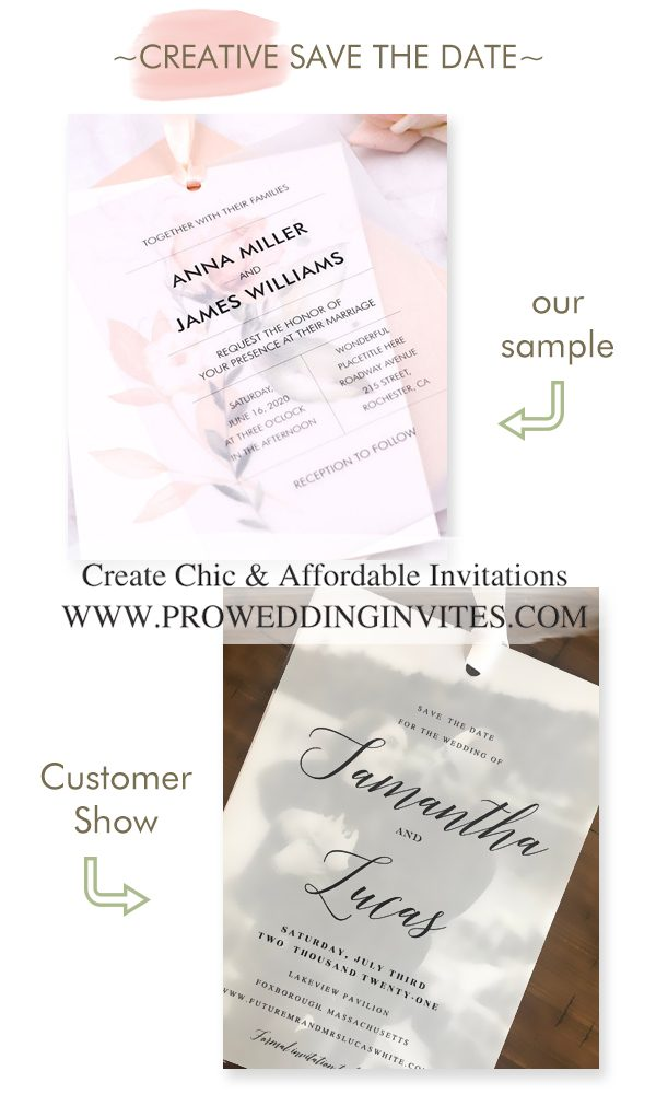 10+ Creative and Chic Save The Date Cards for 2021/2022 Weddings