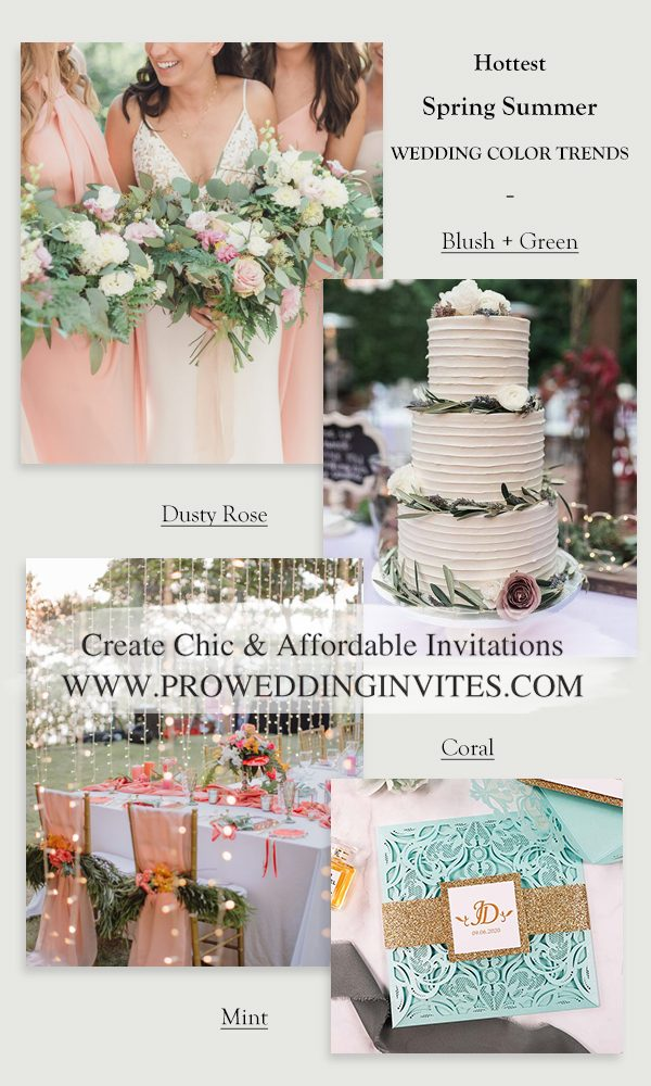 8+ Hottest Spring Summer Wedding Color Trends for 2021/2022