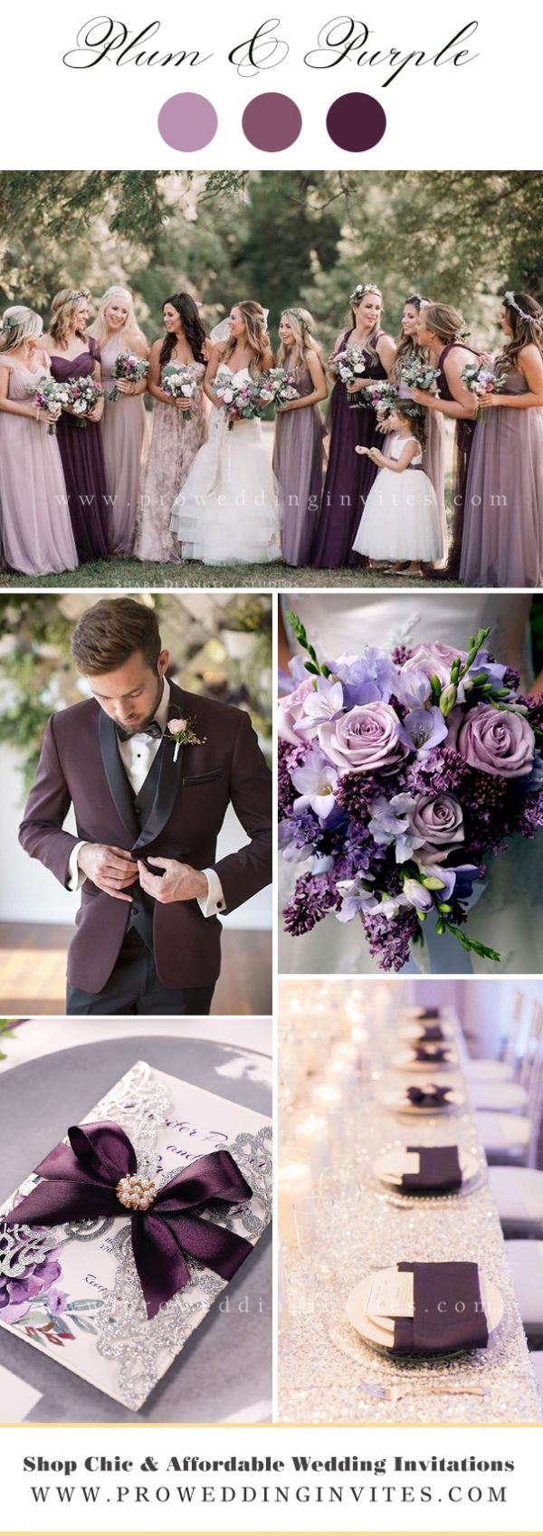 Plum Wedding Color Ideas