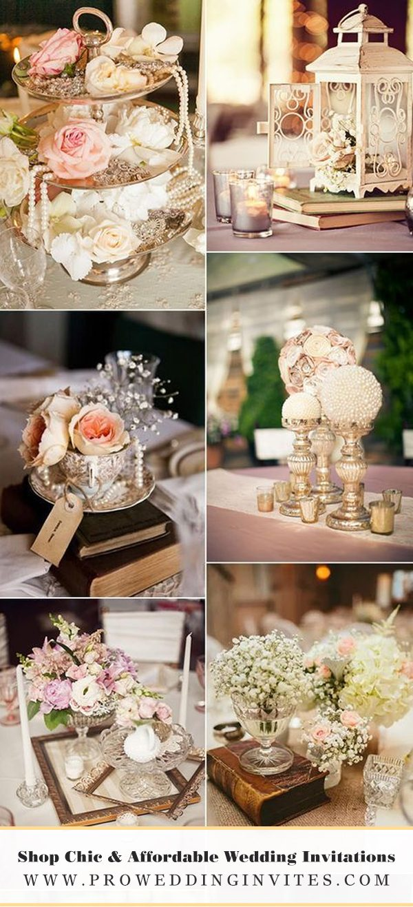 Sparkle Wedding Centerpieces Ideas - Pro Wedding Invites