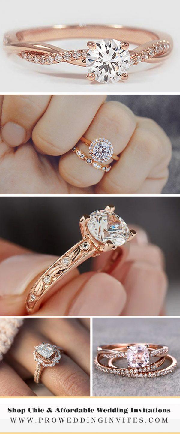 Gorgeous Engagement Rings - Pro Wedding Invites