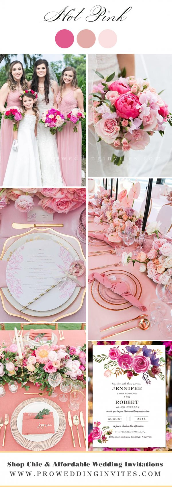 Hot Pink Wedding Color Ideasvvvvvvvvvvv
