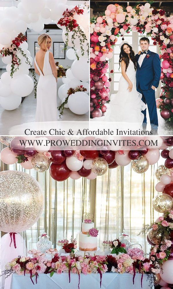 Trendy Balloon Wedding Ideas – Creative and Fun