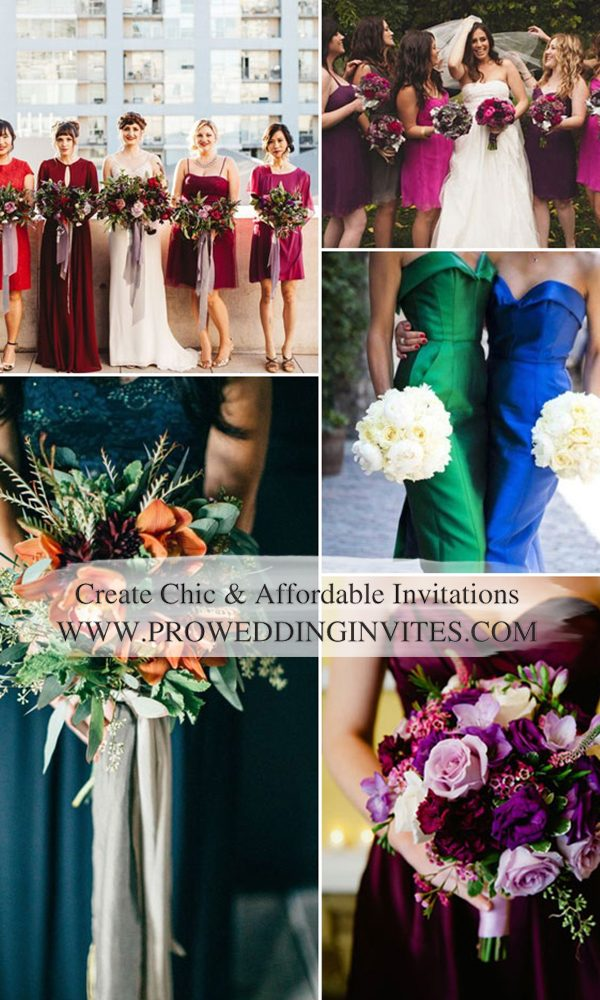10 Amazing Color Matches Terrific For 2021 Fall Wedding