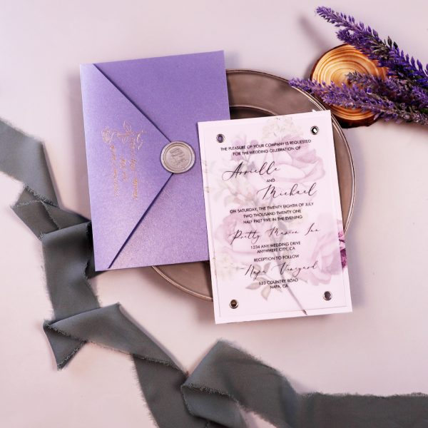 Lavender Wedding Color Ideas