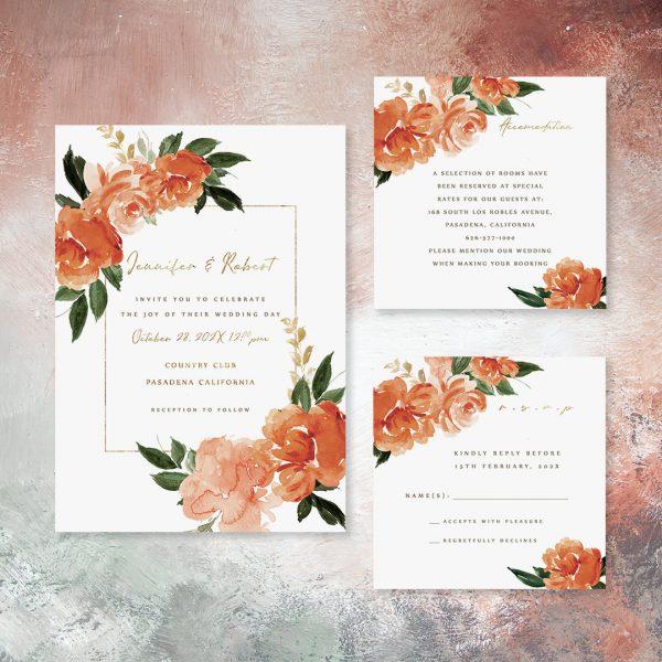 Rust & Teal Spring Wedding Colors Inspired by Pantone
