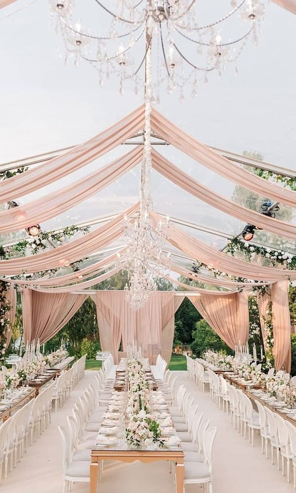 15 Popular Tented Wedding Ideas that You Can't Miss