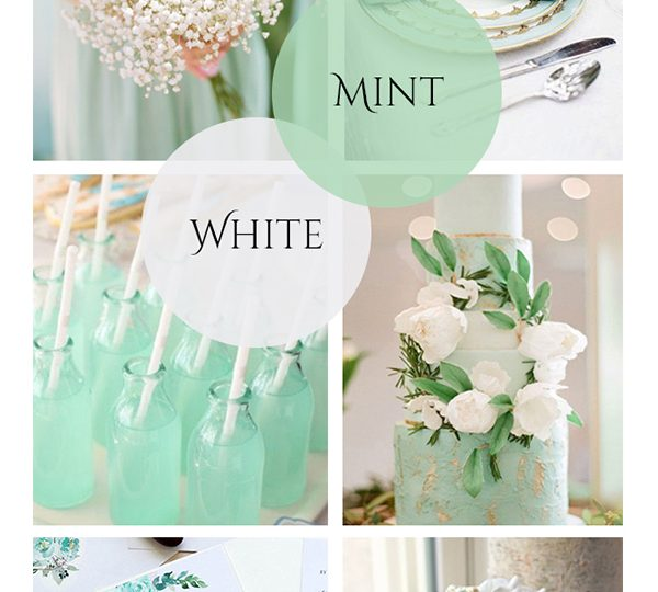 Refreshing Mint Green Wedding Color Ideas to Steal