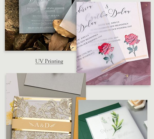 7 Chic Ways to DIY Wedding Stationery with Vellum Paper