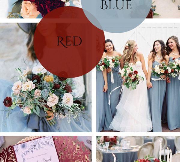 Top 10 Fashion Wedding Colors Inspired by Pantone