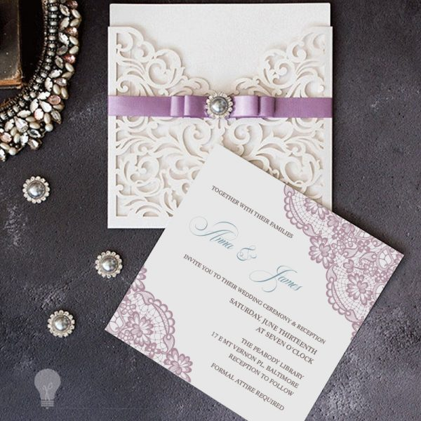 Mauve, ivory and green Wedding Ideas Wedding Wedding Color Ideas with Matching Invitations