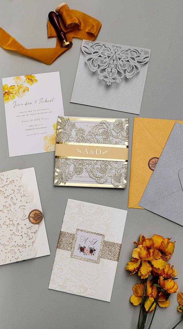 Creative Ideas to DIY Your Wedding Cards