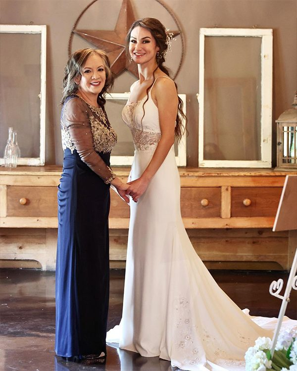 Bride and Mother's Heart-warming Moment