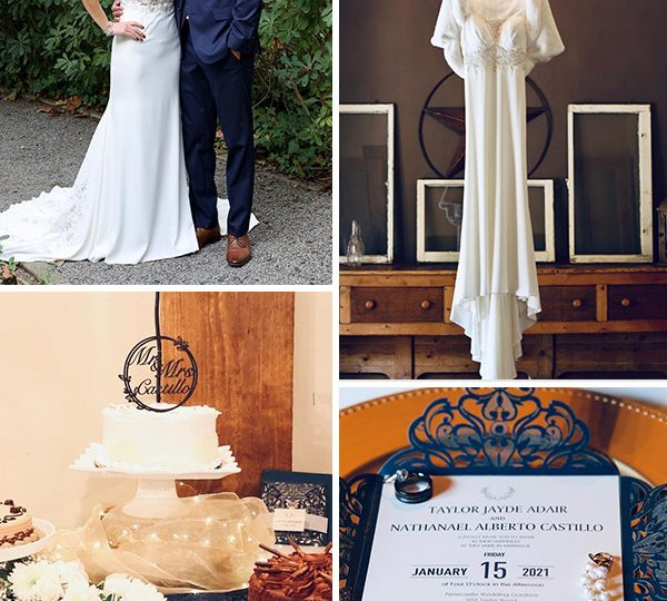 Real wedding from Pro Wedding Invites: Nathan & Taylor's elegant country wedding