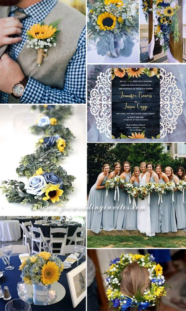 10 Most Fabulous Dusty Blue Wedding Colors Trends for 2021/2022