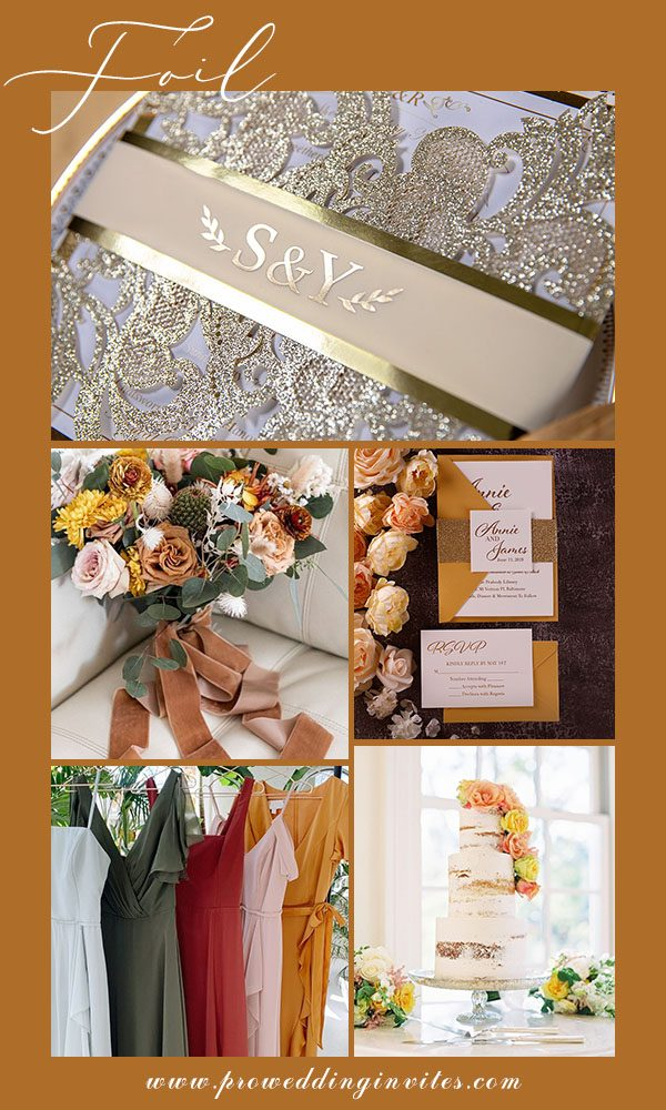 10 Hottest Wedding Invitations with Response Cards to Inspire You