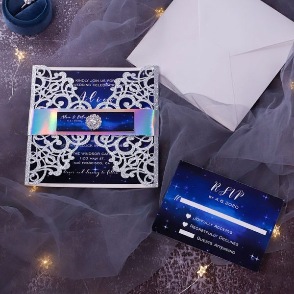 How Can You Customize Acrylic Wedding Invites to Fit Your Wedding Style