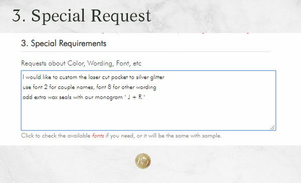how to personalize wedding invitations