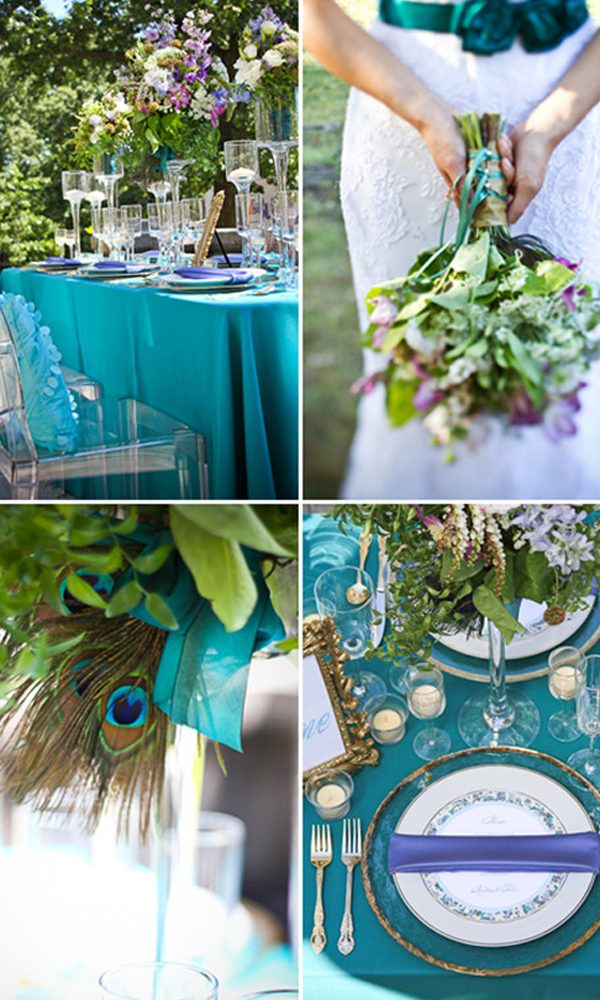5 Awesome Decor that are Great for a Peacock Wedding Theme