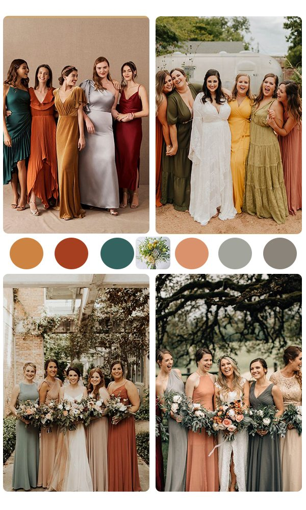 Wedding Tip !! Stop Preparing the Same Costume for All Bridesmaids