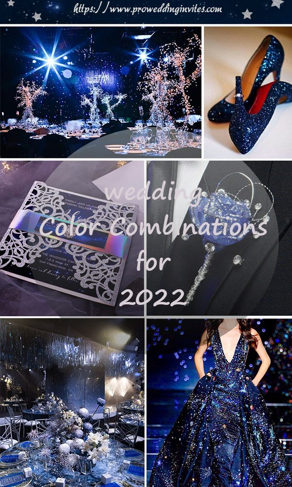 Wedding Color Combinations You'll Love for 2022