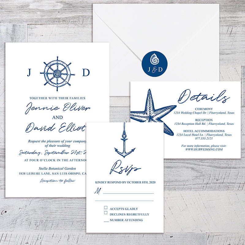 nautical wedding themes