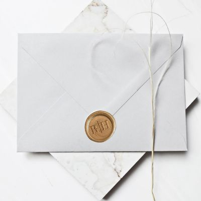 Custom Envelopes Wax Stamp Stickers PWIW